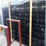 Мраморные камня, Portoro черно-белый мрамор плитка плиты, Серебряный дракон из черного мрамора