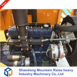 Fabriquant d'équipement de ferme mini chargeur de roue de 0.8 tonne avec du ce