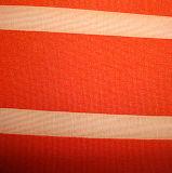 Ledernes überzogenes nachgemachtes Jersey-Gewebe