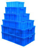 Caixa plástica durável forte da modificação do HDPE