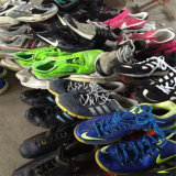Zapatos al por mayor de la segunda mano de la fábrica
