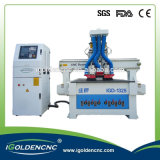 CNC de la máquina, máquina de madera del ranurador del grabador del CNC, puerta que hace el ranurador del CNC