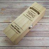 Personnaliser la boîte en bois à vin rouge avec le prix meilleur marché