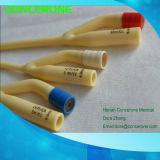 De beschikbare tweerichtingsCatheter van de Urine Foley met Ce & ISO