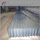 Tôles d'acier galvanisées ridées d'IMMERSION chaude pour la toiture