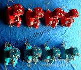De kleurrijke 2 Uitrustingen van de Motor van de Slag 80cc voor de Gemotoriseerde Rode Blauwe Zilveren Zwarte Kleur van de Fiets
