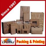 Shopping sac cadeau d'emballage du papier d'Art & Case