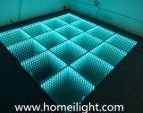 Abismo Dance Floor do espelho do diodo emissor de luz Dance Floor RGB 3D para o estágio