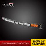 "Barra chiara curva riga fuori strada chiara di 54 "" 300W LED di singola"