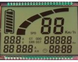 Tn-Segment LCD passte an