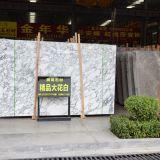 Preço de mármore branco da pedreira elevada de pedra Polished da laje em India