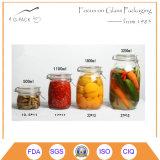 De Luchtdichte Kruik van het glas voor het Doel van de Opslag van het Voedsel