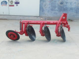 Un-voie 3 Point Linkage Tractor Pipe Disc Plough de ferme à vendre