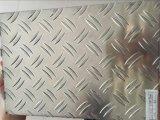 Two Bars를 가진 선반 또는 Mirror Finished Aluminum Tread Sheet/Coil