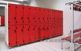 スタッフの更衣室のためのフェノールのコンパクトの積層物のキャビネット