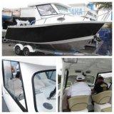 Yacht di alluminio del peschereccio di configurazione di alta qualità di sport di velocità popolare di giro
