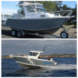 Скорости путешествия спорта конфигурации высокого качества яхта рыбацкой лодки популярной алюминиевая