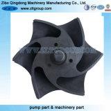 投資鋳造または砂型で作ることによるステンレス鋼ポンプ(CD4MCuN)