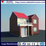 Rápido de lujo prefabricado de la construcción prefabricada de acero Villa