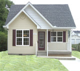 시골 작풍 Prefabricated 가벼운 강철 구조물 살아있는 집 (KXD-pH19)