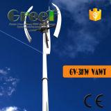 Turbina de vento vertical do sistema 3kw doméstico com BV