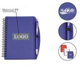 A6 PP Papeterie Notebook Notebook Notebook personnalisé Notebook