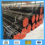 Precio inconsútil suave del tubo de acero del horario 40 laminados en caliente negros del carbón
