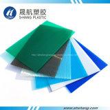 SGS aprobado lámina hueca de policarbonato con protección UV
