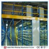 A cremalheira resistente do assoalho de mezanino do Shelving do fio de China Nanjing funciona a fábrica da planta