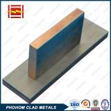 爆発溶接電気アーク炉の銅の鋼鉄覆われた版