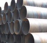 Tubo d'acciaio saldato a spirale d'acciaio a spirale dell'accatastamento dei tubi api 5L X52