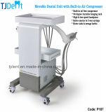 Bewegliches modernes zahnmedizinisches Gerät mit Luftverdichter (P187)