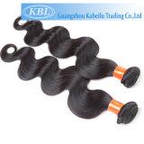 100%の人間の毛髪のマネキンは長い毛の先頭に立つ