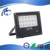 3 años de la garantía 100W de reflector al aire libre del alto rendimiento LED