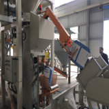 5-50kg de automatische Verpakker van de Lucht met het Nauwkeurige Wegen voor de Installatie van het Cement