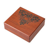 Casella impaccante del profumo, casella di legno del profumo del regalo