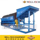 Tela giratória do Trommel/planta de lavagem Trommel do ouro para a venda
