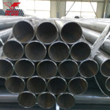 Tubulação de aço soldada aço suave de baixo carbono da tubulação da tubulação de aço