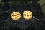 16 Maker die van de Wafel van de Stok van de Vorm van gaten de Mini Ronde Machine maken