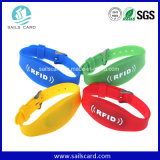 Langer Anzeigen-Abstand UHFsilikonRFID Wristband