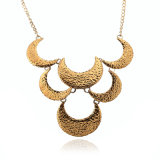 Ожерелье сплава слоя формы Monn европейского типа золота и серебра Multi