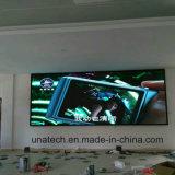 Visualización de pantalla de alta resolución fija de interior de Digitaces de los media de publicidad de la echada P2.5/P3/P4/P5/P6 LED del pixel