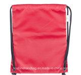 sac à dos de sac de cordon de coton du polyester 210d