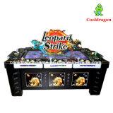 표범 타격 캐치 물고기 사냥꾼 노름 테이블 아케이드 게임 기계