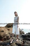 Pantalones anchos superiores ocasionales de la pierna de las nuevas mujeres del diseño del verano