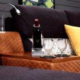 居間の家具Fb1140のためのコーヒーカラーファブリックソファー