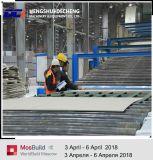 Proceso de línea de producción de planta de yeso