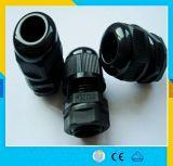 Pg25ケーブル腺のプラスチックナイロンPg25ケーブル腺は回路ブレーカのプラグおよびソケット制御ボックスを防水する