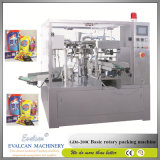 Automatique Machine d'emballage rotatif avec grain Peseur Multihead
