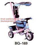 Bicicletta dell'elemento portante di bambino delle rotelle dell'elemento portante 3 del triciclo del bambino dell'ombrello da vendere